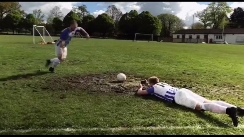 Любимый футбол повсюду🤔