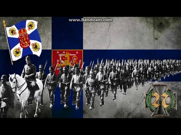 Kauan on Kärsitty - Finnish Guard Marching Song (Lyrics)