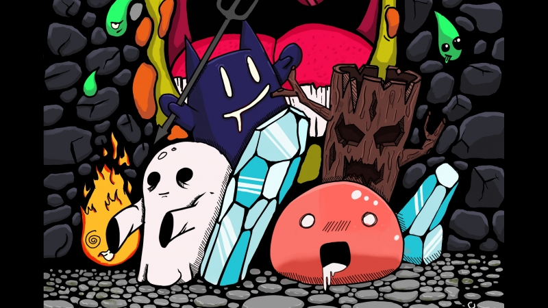 Dungeon_doodle (c) WhiteHedgehog