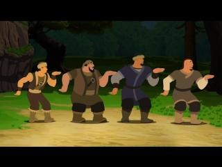 Қазақ елі анимациялық фильмінен үзінді. Нұрлан Абдуллин ағамыздың орындауындағы қарақшылар әні