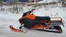 Мини обзор снегохода Irbis SF150L