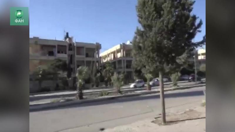 Сирия: ФАН публикует видео с места атаки боевиков в Алеппо