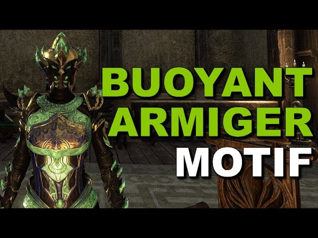 Fashion: ESO Armor Styles - Buoyant Armiger Motif - Light, Medium, Heavy - Elder Scrolls Online