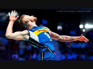 TOP 10 Volleyball ACES by Ivan Zaytsev (fantastic serve) 2018 Full HD