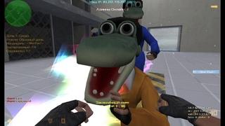 Играю на своем JBE-Новогодние Зеки! JailBreak ! Лучший сервер для игры!