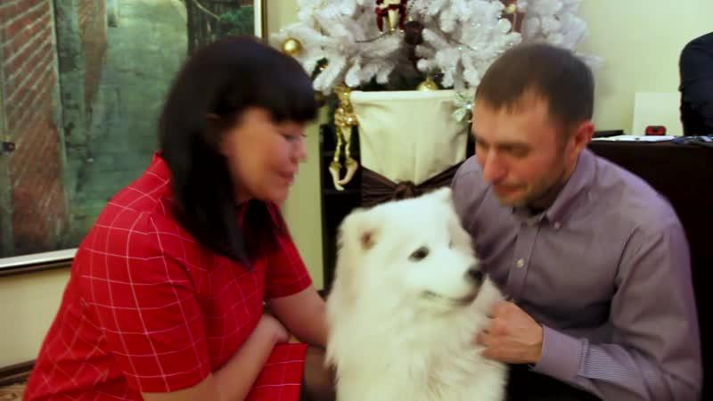 Лакки и Евгений с супругой. Новогодние корпоративы. Банкетный зал Шекспир