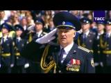 Инаугурация 07.05.2018. Путин провел смотр Президентского полка
