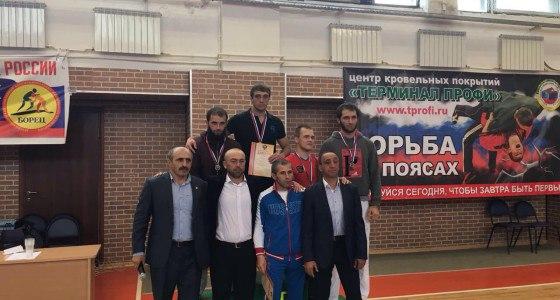 Двое жителей Зеленчукского района призеры Кубка России по борьбе на поясах