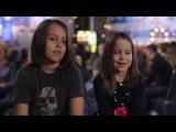 6-ти летняя девочка Aaralyn с братом Izzy, скримит на Americas Got Talent