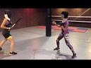 Палочный бой / боевые искусства для девушек / dancezavod