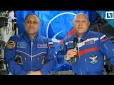 Космонавты поздравили россиян с Днём космонавтики