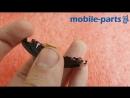 Сборка дисплей (амолед) для Samsung R365 Gear fit2 pro Black оригинал