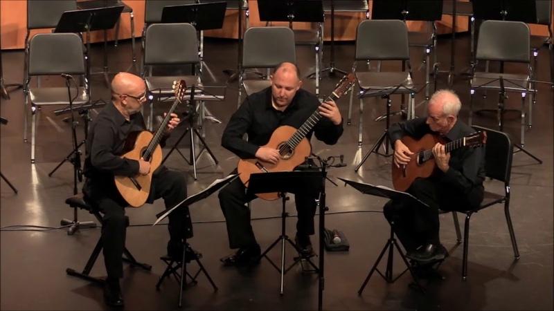 Trio Camino perform Sacro-monte by Joaquin Turina
