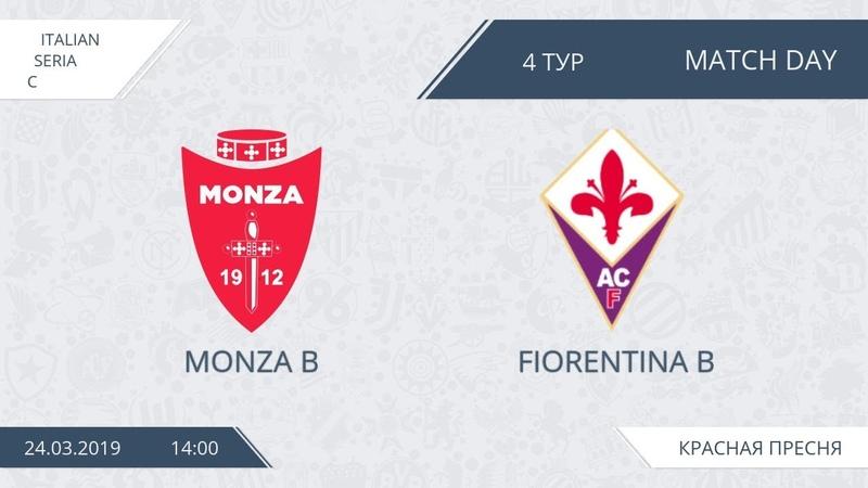 AFL19. Italy. Serie C. Day 4. Monza B - Fiorentina B