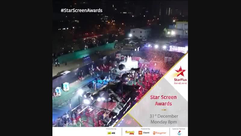 Be StarStruck this NewYearsEve with StarScreenAwards 2018, Tomorrow at 8pm! - @BeingSalmanKhan @Asli_Jacqueline @ShraddhaKapoor