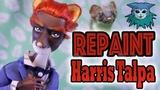 Tutorial Repaint Harris Talpa Stoat (Penny's dad) Monster High boy Porter Geiss
