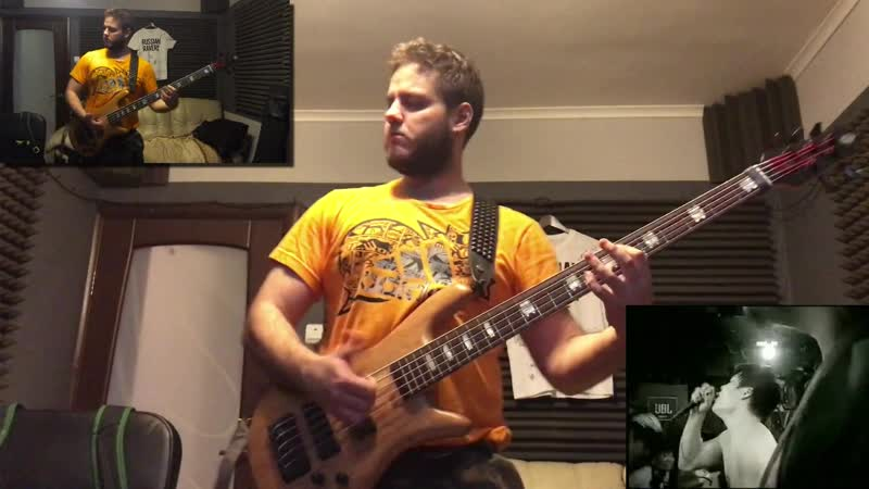 MAXIMUM THE HORMONE - ROLLING1000tOON [Bass Cover]