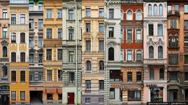 Архитектурные ансабли Петербурга