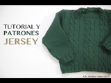 Tutorial y patrones jersey verde ochos
