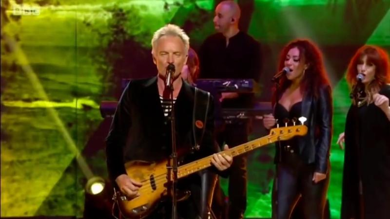 Sting Shaggy - Dont Make Me Wait on The Queens Birthday Party концерт в честь 92-летия Королевы Великобритании Елизаветы II.