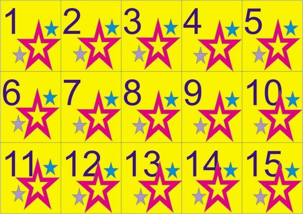 Картинки лотереи для детей, картинки немецкие