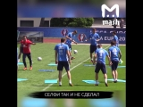 Школьника задержали за попытку сделать селфи со сборной России по футболу