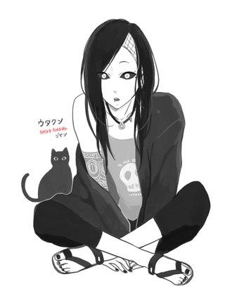Аниме токийский гуль персонаж ута