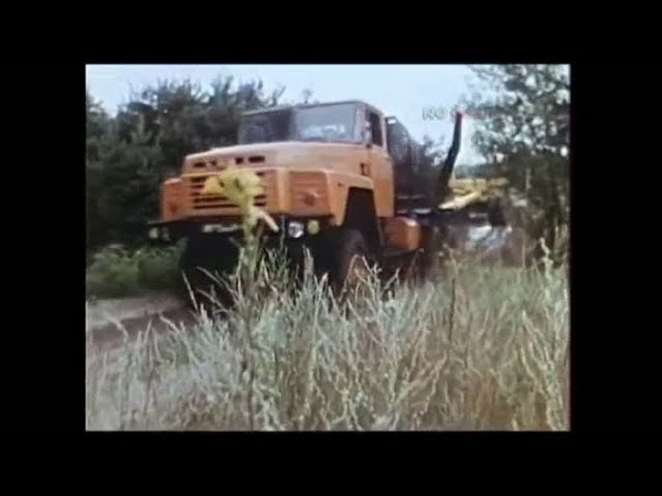 1988 год Новые тягачи КрАЗ 6437