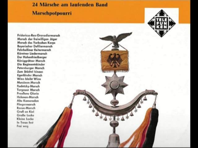 24 Märsche am laufende Band Musikkorps 6 der Bundeswehr Hamburg Gerhard Scholz