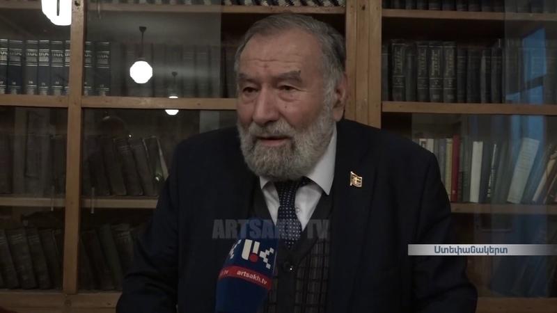 Զորի Բալայանը Ստեփանակերտի հանրապետական