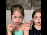 Прикол девочки ругаются с мамой из-за шоколада