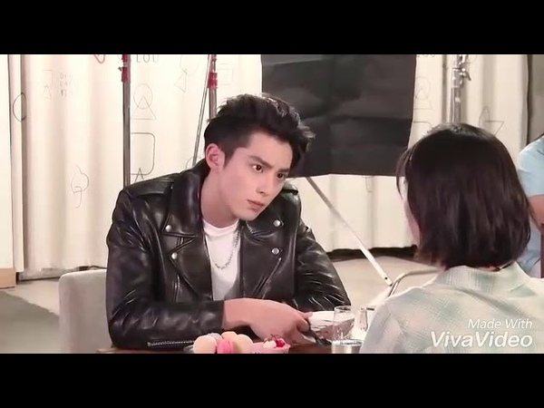 DyShen Moment BTS Meteor Garden 2018 Dylan Wang Shen Yue