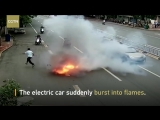 Китайцы и электрический скутер