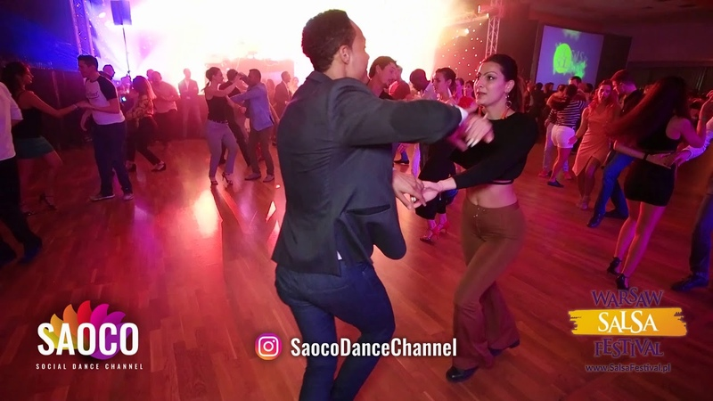 Evguenny and Irena Prodanova Salsa Dancing at El Sol Warsaw Salsa Festival, Friday 09.11.2018