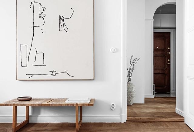 Интерьер квартиры в Cтoкгольмe