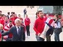 El Atlético de Madrid ofrece la Copa a la Virgen de la Almudena