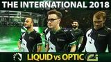 LIQUID vs OPTIC TOP 6 GAME - Miracle- IMBA 12min Radiance Alchemist THE INTERNATIONAL 2018 - Dota 2