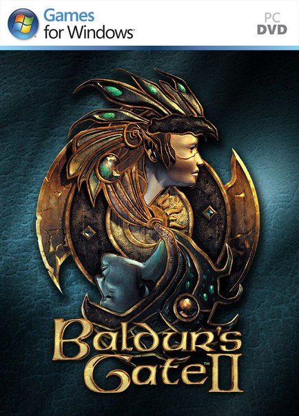 Baldurs Gate II: Enhanced Edition logo, coverart, логотип, картинка