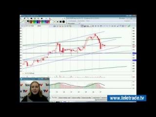 Юлия Корсукова. Украинский и американский фондовые рынки. Технический обзор. 27 ноября. Полную версию смотрите на www.teletrade.tv