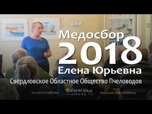 Итоги пчеловодного сезона Медосбор 2018 Общество пчеловодов Екатеринбург