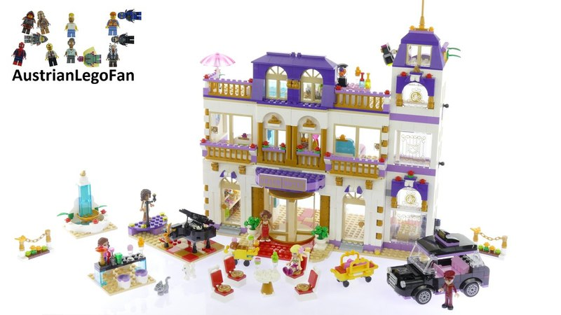 Конструктор LEPIN 01045 Гранд-отель- аналог 41101