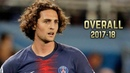 Adrien Rabiot Overall 2017 18 Best Skills Goals