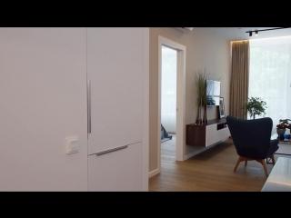[GEOMETRIUM — cовременный дизайн интерьера] Дизайн интерьера для апартаментов в жилом комплексе TATLIN в Москве.