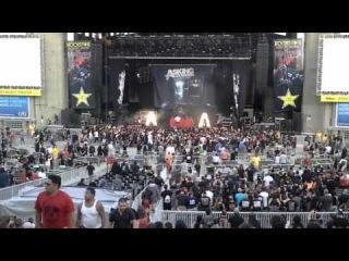 Asking Alexandria - Live at Rockstar Energy Drink Mayhem Festival, Jones Beach, NY 07/30/2014 part 1