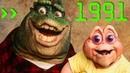 [ТРАВА ЗЕЛЕНЕЕ] 10 - ДИНОЗАВРЫ/СЕМЬЯ ДИНОЗАВРОВ (Dinosaurs 1991)