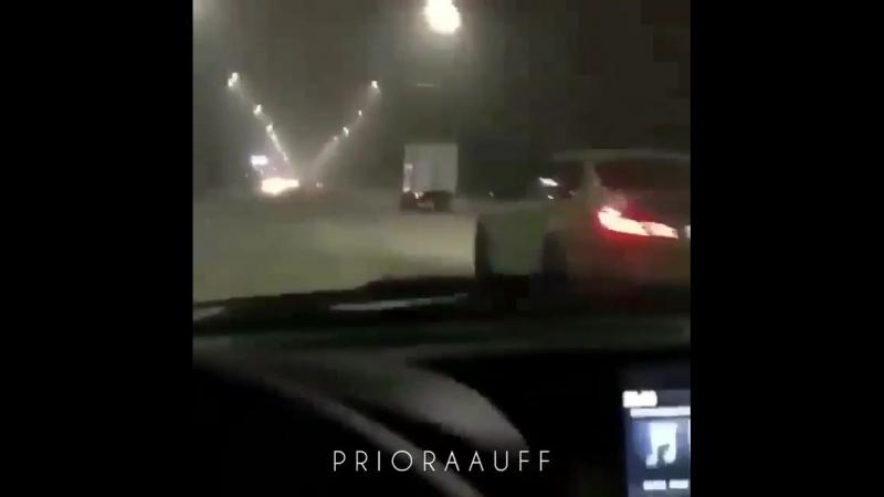Страшная авария на приоре😱