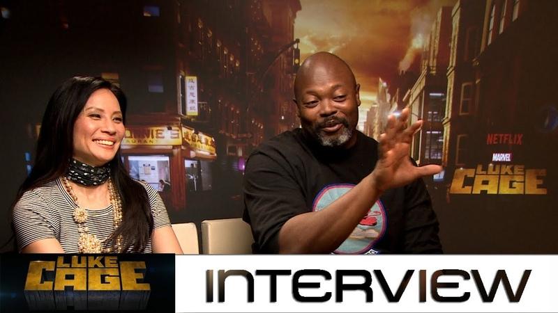 Luke Cage Staffel 2 Interview mit Lucy Liu und Cheo Hodari Coker zur Marvel-Serie von Netflix