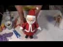 DIY - Como fazer um Papai Noel com material reciclado - How to do Santa Claus whis recycled material