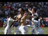 Zlatan Ibrahimovic scores HAT TRICK