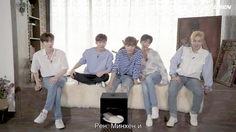 (рус саб) Nuest Star Road 10 ep RUS SUB